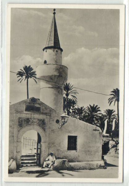 Bendav Postcards - Libya, Tripoli, Unknown Mosque 1930S Rppc - Powered By Cubecart-3511