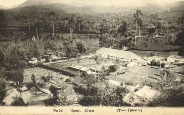 indonesia, JAVA BANDUNG, Oranjeplein, Bandstand (1928) Stamps