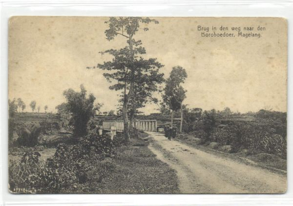indonesia, JAVA MAGELANG, Bridge on the Road to the Boroboedoer (1910s)