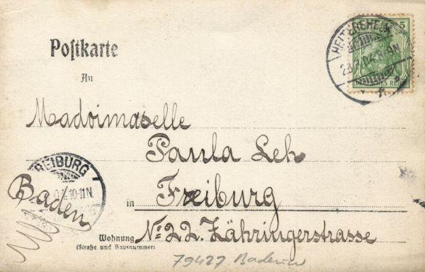 Bendav Postcards - germany, ZITTAU, Sedan Strasse