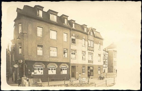 "germany (?) austria (?), UNKNOWN, ""Brombergasse"" (?) Tobacconist (ca. 1930) RPPC"