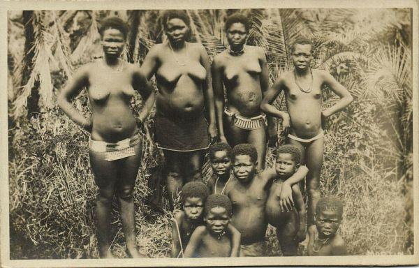 topless women of congo
