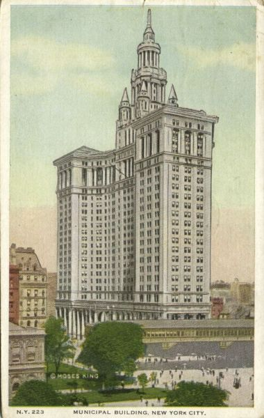New York, N.Y., Municipal Building (1918)