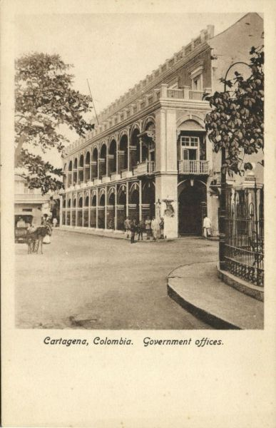 colombia, CARTAGENA, Government Offices (1920s)