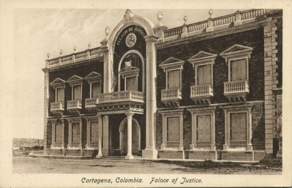 colombia, CARTAGENA, Palace of Justice (1920s)