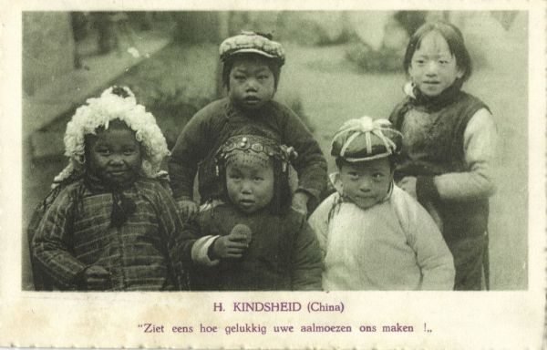 china, Holy Childhood, Young Chinese Children (1930s) Franciscan Mission