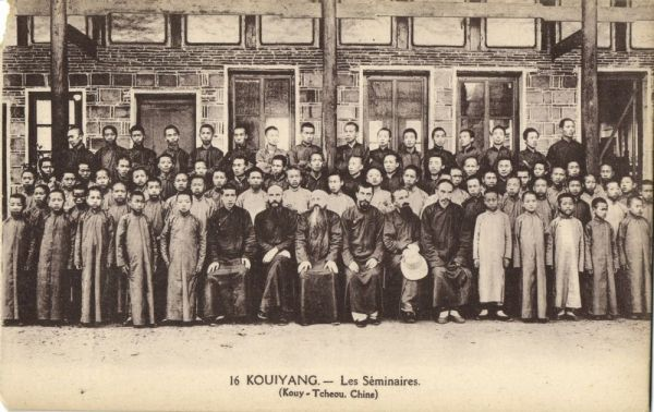 china, KOUY-TCHEOU, Seminars (1920s) Mission